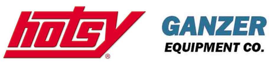 Hotsy and Ganzer Equipment Logo
