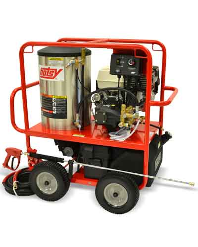 Hotsy Hot Water Washers - 1075SSE Gas Engine Hot Water Pressure Washer
