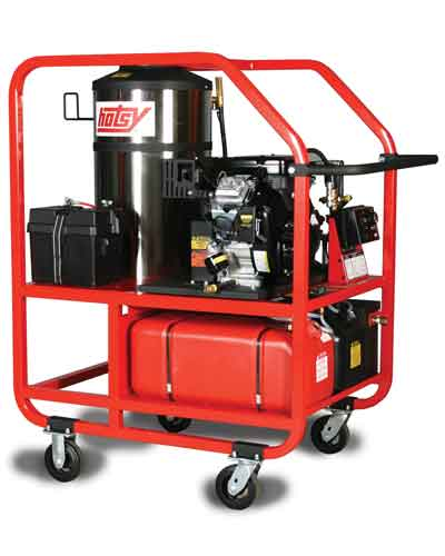 Hotsy 1200 Series Hot Water Washer with Portable Gear Kit