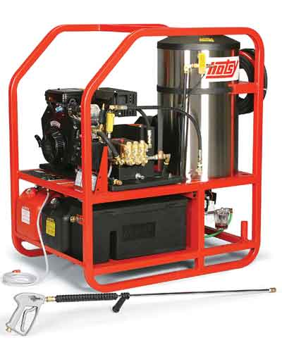 Hotsy 1260SS Gas Engine Hot Water Pressure Washer