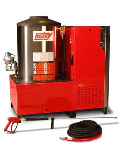 Hotsy 1800 Series Hot Water Pressure Washer