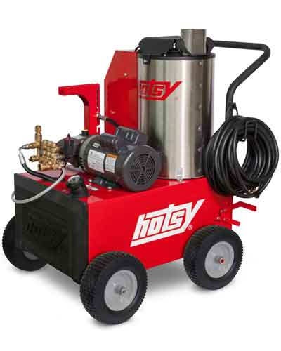 Hotsy 555HE Hot Water Electric Powered Pressure Washer