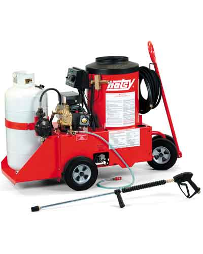 Hotsy 558 LP Burner Hot Water Electric Powered Pressure Washer