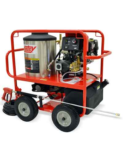Hotsy 965SS Gas Engine Hot Water Pressure Washer