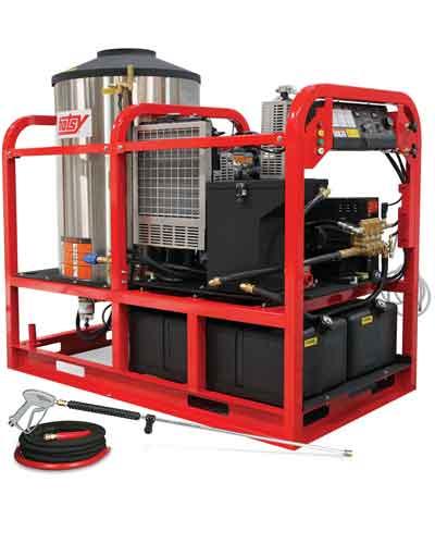 Hotsy HSS Diesel Hot Water Pressure Washer