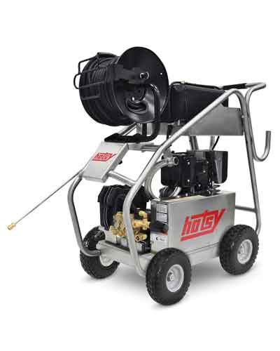 Hotsy Hi-Flow Cold Water Washer with Hose Reel Kit
