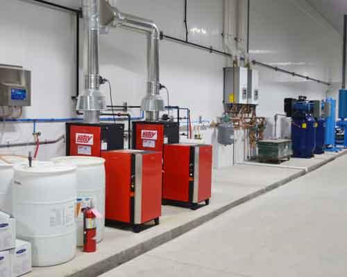 Hotsy Industrial Installation