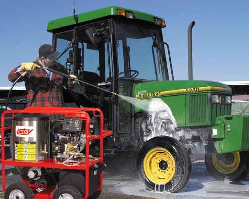 Hotsy Farm Equipment Cleaning